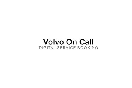 Volvo on Call - Digital Service Booking