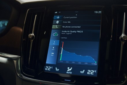 Breathe clean air with world-first air quality technology inside new Volvos