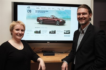 Volvo Cars' new website gets 55 million visits this year