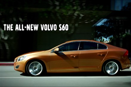 Volvo S60 - Sculpted to move you - newsreel (0:50 sec.)