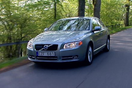 Volvo S80, model year 2011, driving footage - Video Still