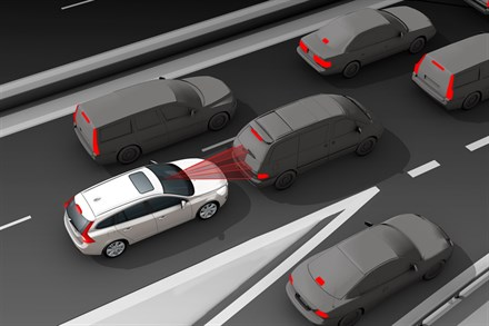 World class safety: The new Volvo V60 – enhanced safety both inside and outside the car