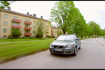 Volvo V50, model year 2010, driving footage - Video Still