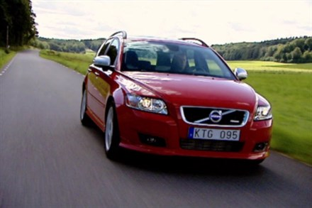 Volvo V50, model year 2011, driving footage - Video Still
