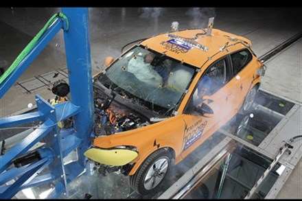 Volvo shows electric car safety leadership at the auto show in Detroit
