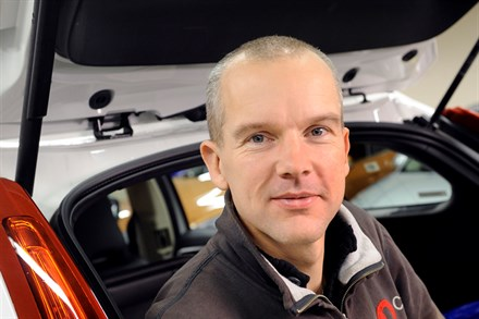 Volvo Car Corporation employees receive awards from the US traffic safety administration NHTSA