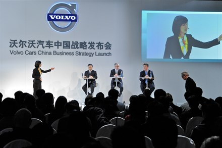 Launch of Volvo Cars business strategy for China (video 3:04)
