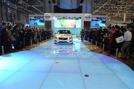 Volvo Cars' stand the best at Geneva Motor Show 2011