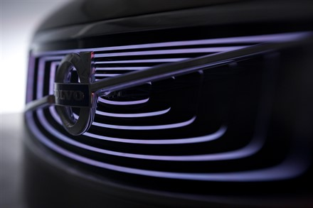 Volvo Car Corporation presented luxury sedan concept at Shanghai Auto Show