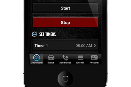 Volvo Car Corporation introduces mobile application that brings the car into your smart phone