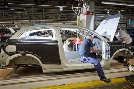Volvo Car Corporation starts production of the Volvo C30 Electric to leasing customers in Europe