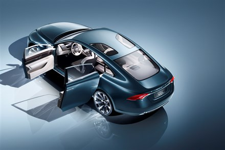 Concept You from Volvo Car Corporation:Luxurious Scandinavian design with intuitive smart pad technology
