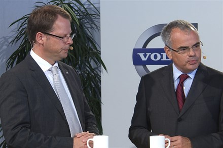 Press Conference: Volvo Car Corporation reveals new technological strategies (video still)