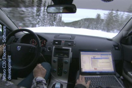 Volvo C30 Electric - Software Development (2:14), speaker, sound