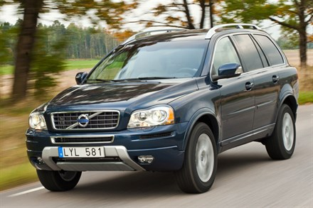 Volvo XC90, model year 2012, driving footage - Video Still