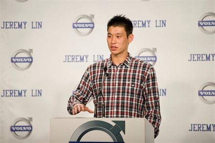 Rising NBA Star Jeremy Lin Joins Volvo Car Corporation Family