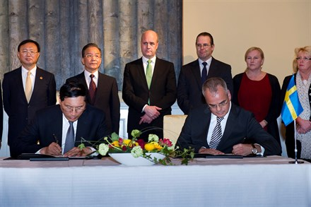 Volvo Car Corporation signs MoU on strategic partnership with China Development Bank