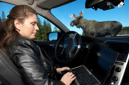 Carina Björnsson at Volvo Car Corporation is working with Animal Detection