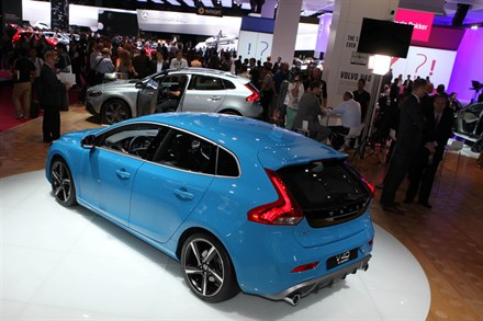 Volvo Car Corporation at the 2012 Paris Motor Show