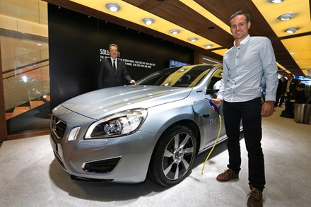 VOLVO AUTOMOBILES FRANCE : BILAN 2012 ET PERSPECTIVES 2013