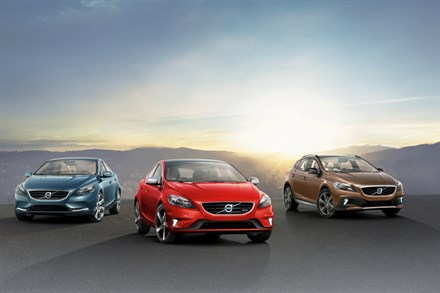 THE ALL-NEW VOLVO V40 RANGE - LOW-EMISSION LUXURY WITHOUT COMPROMISE