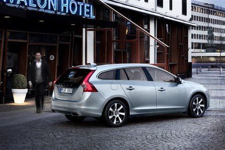 Volvo Car Corporation ramps up assembly of the world's first diesel plug-in hybrid