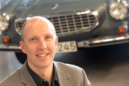 Robin Page joins Volvo Cars as Design Director Interior
