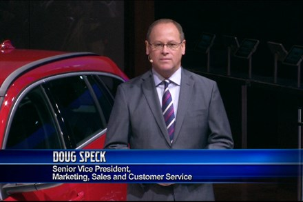 Volvo Cars press conference at the 2013 New York Auto Show - Video Still