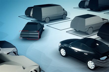 Volvo Car Group demonstrates the ingenious self-parking car - video still