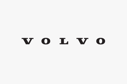 Volvo's iron logo back in the centre