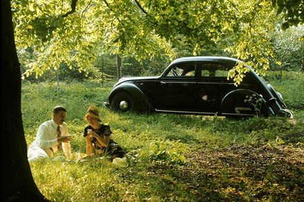 PV36 75 years - Volvo's theme for this year's TechnoClassica Show in Essen