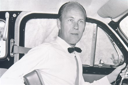 Volvo's three-point safety belt turns 50