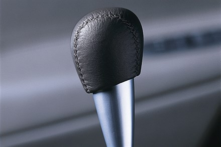 S60, Spaceball, Leather clad gear lever, Manual
