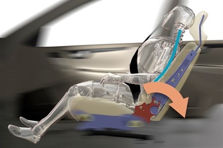 Volvo seats reduce whiplash by 50 per cent
