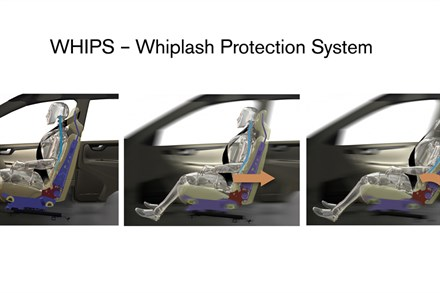 Volvo Cars prioritises protection against neck injuries in frontal collisions
