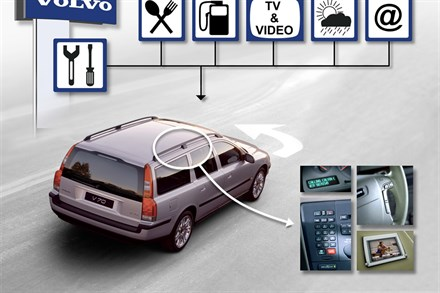 Volvo Cars sets pace in European development of 'intelligent cars'