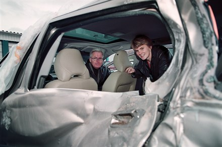 Volvo Cars accident research commission gathers knowhow that saves lives