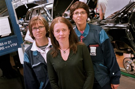 Many opportunities for women to make a career at the Volvo Cars Torslanda plant