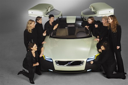 Volvo Cars' YCC team named Women of the Year