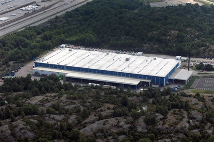 Volvo Cars' crash-test laboratory 10 years