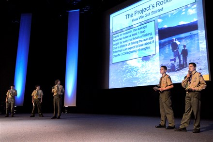Soon time for the finals in Volvo's environmental competition for youngsters