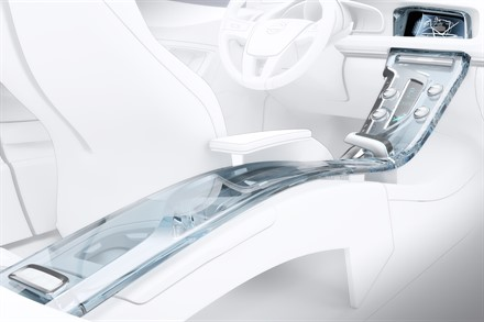 VOLVO TEAMS UP WITH ORREFORS TO WORK ON THE NEW VOLVO CONCEPT CAR