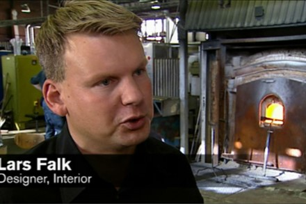 Volvo Cars engages Orrefors in work with new concept car (2:32)