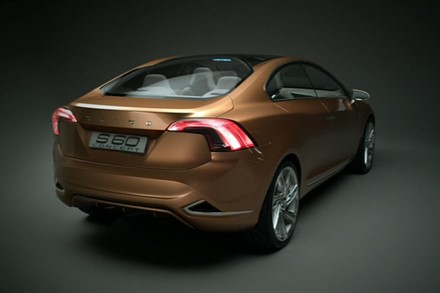 An early Christmas present from Volvo Cars - a glimpse of the next-generation Volvo S60 (0:32)