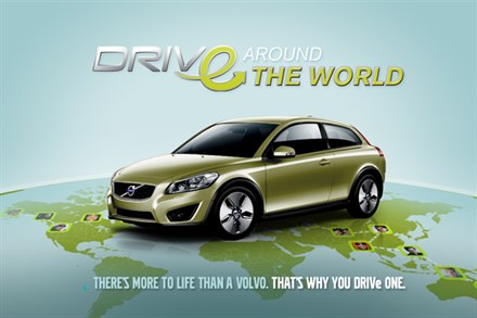 63,000 FACEBOOK TEAMS ACCEPTED VOLVO CARS' CHALLENGE TO DRIVe AROUND THE WORLD IN 80 DAYS