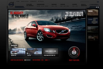 "Arnold Launches ""The Naughty Volvo Films"""