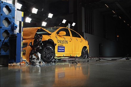 Volvo Cars Crash Test Lab – Newsreel (16:59)