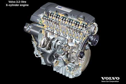 The all new Volvo S80 – Driveline - New six-cylinder in-line engine powers the all new Volvo S80