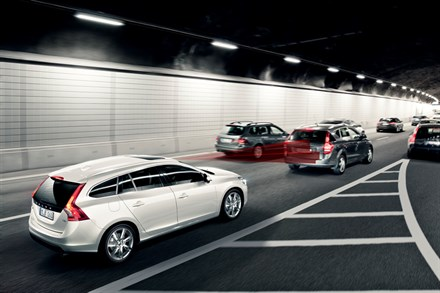 One million cars with pioneering auto brake technology sold : Volvo Car Group reaches landmark safety milestone