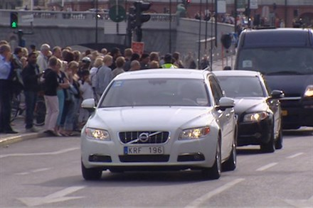 VOLVO - OFFICIAL CAR FOR THE ROYAL WEDDING 2010 (B-Roll) - Video Still
